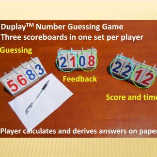 对乐牌数字卡牌桌游英文3