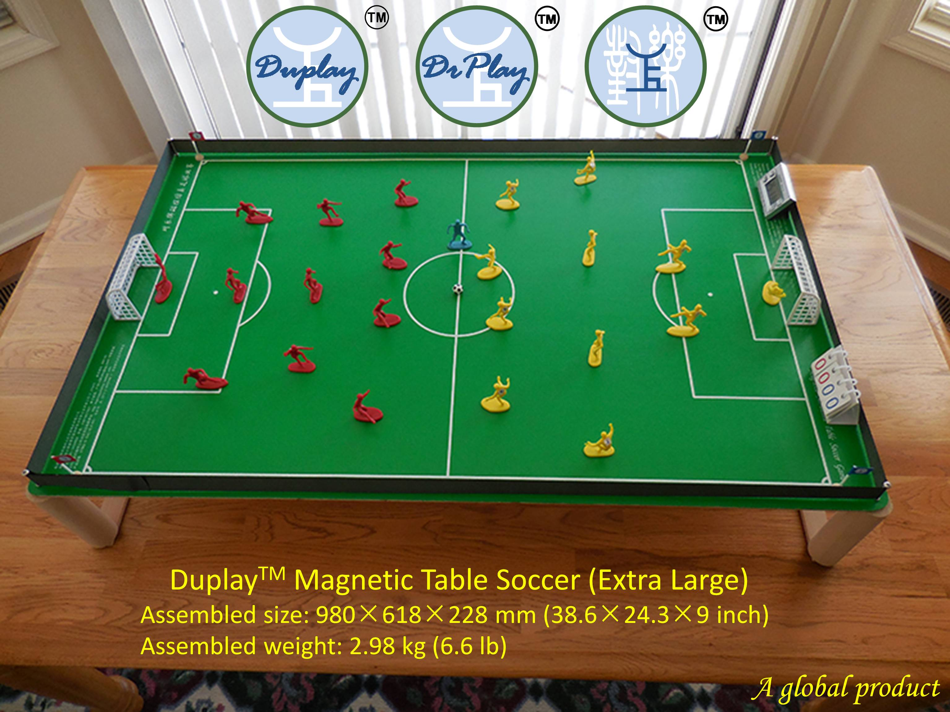 Duplay Magnetic Table Soccer Game Magnetic Football